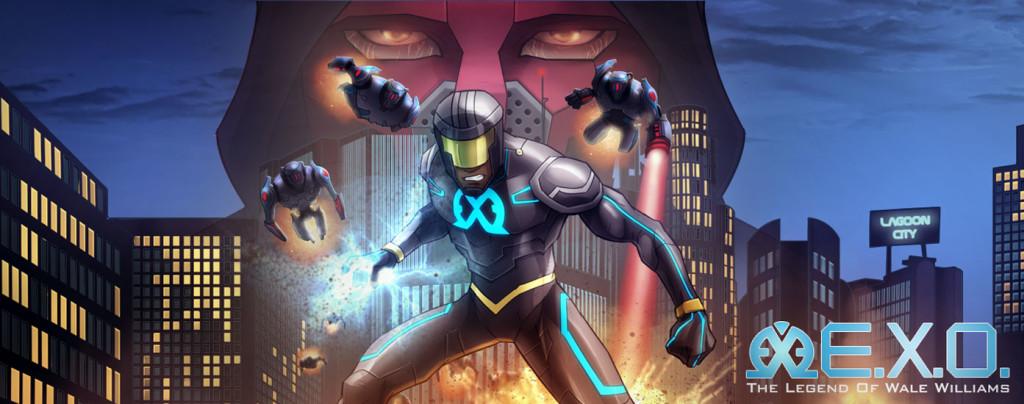 superhero comics EXO